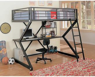 LOFT Coaster Workstation Bed