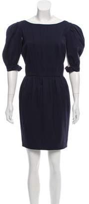 Fendi Pleated Mini Dress