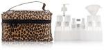 Japonesque Leopard Travel Valet Bag