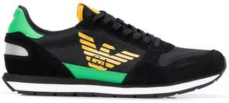 Emporio Armani contrast logo sneakers