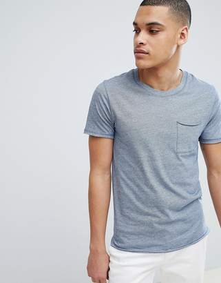 Selected T-Shirt In Organic Cotton With Pocket