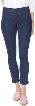 NYDJ Pull-On Ankle Skinny Jeans