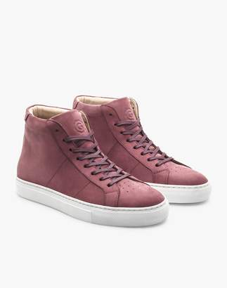 Madewell GREATS Royale Leather High-Top Sneakers