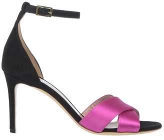04c7ec82eb4 Aldo Black Leather Sole Sandals For Women - ShopStyle UK