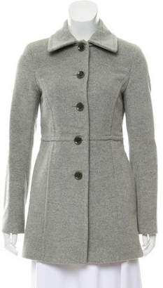 Theory Wool Long-Line Jacket
