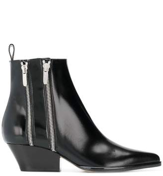 Sergio Rossi zipped ankle boots
