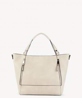 Sole Society Nera Tote Side Zip Large Tote