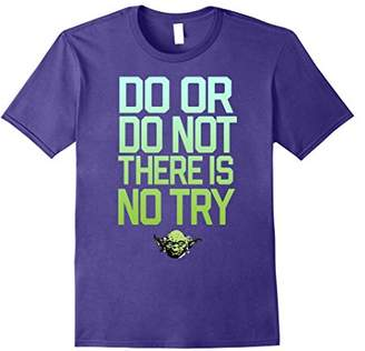 Star Wars Do Or Do Not There Is No Try Yoda Stamp T-Shirt
