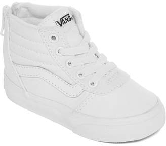Vans Ward Hi Unisex Skate Shoes - Toddler