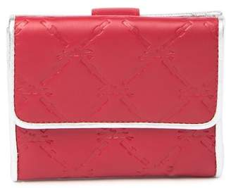 Longchamp Small Compact Leather Wallet