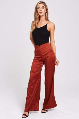 Nomad Rust Animal Print Trousers