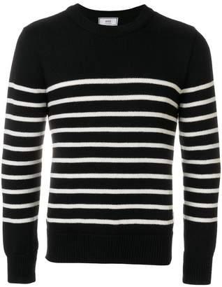 Ami Alexandre Mattiussi Breton Stripes Crewneck Sweater