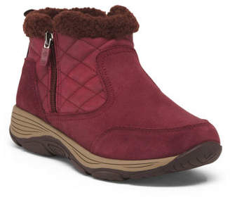 Comfort Quilted Ankle Winter Boots