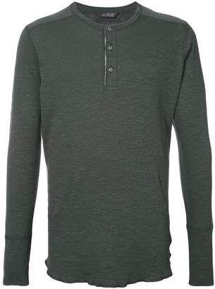 Wings + Horns Wings+Horns henley long sleeve T-shirt