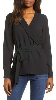 Gibson Wrap Blouse