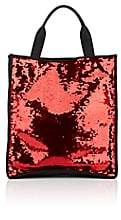Faith Connexion Women's Sequined Tote Bag-Red