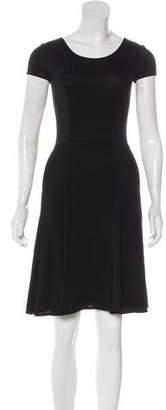 Emporio Armani A-Line Mesh Dress