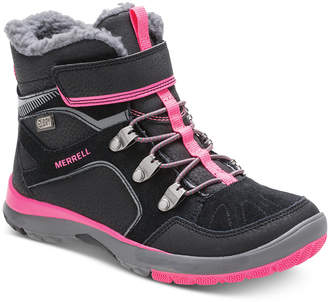Merrell Big Girls Moab Polar Dry Select Boots