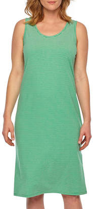 Liz Claiborne Womens Jersey Sleeveless Round Neck Nightgown