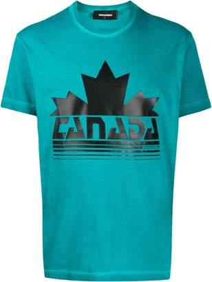 DSQUARED2 Canada print T-shirt