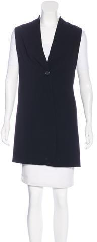 AkrisAkris Wool Single Button Vest