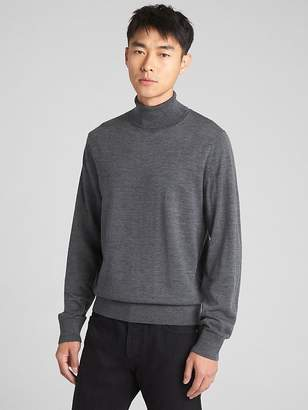 Gap Turtleneck Pullover Sweater in Pure Merino Wool