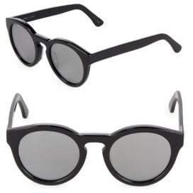 49MM Kiteys Oval Sunglasses