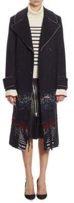 Each X Other Long Hybrid Fabric Coat