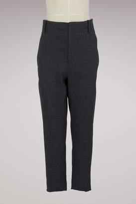 Etoile Isabel Marant Linen Oah pants