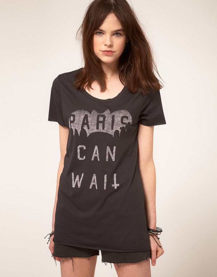 Zoe Karssen Paris Can Wait T-Shirt