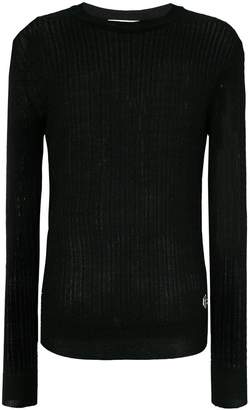Pierre Balmain light cable knit sweater