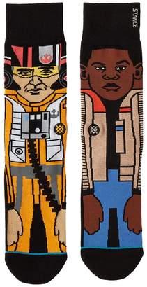 Stance The Resistance 2 Men's Crew Cut Socks Shoes