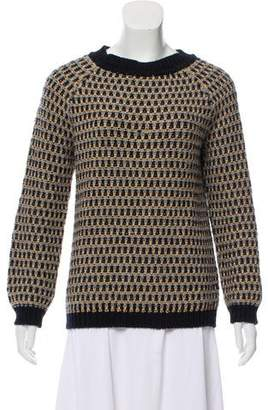 Steven Alan Merino Wool Long Sleeve Sweater