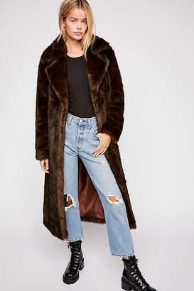 M·A·C Unreal Fur Long Faux Fur Mac Coat