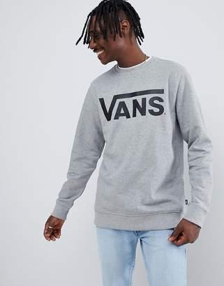 Vans Classic Sweatshirt In Gray V00YX0ADY