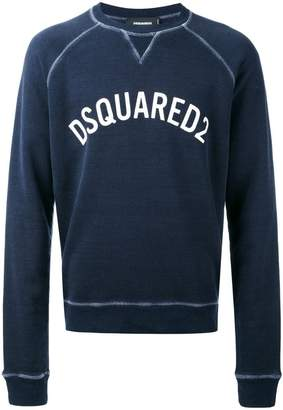 DSQUARED2 logo printed sweatshirt