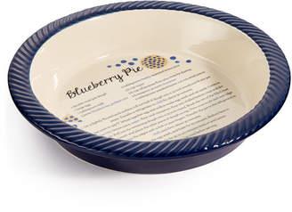 Martha Stewart Collection Blueberry Pie Dish