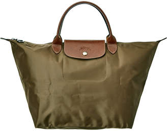 Longchamp Le Pliage Medium Nylon Top Handle Tote