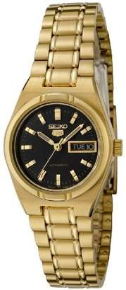 Seiko Women's 5' Japanese Automatic Gold-Tone-Stainless-Steel Casual Watch