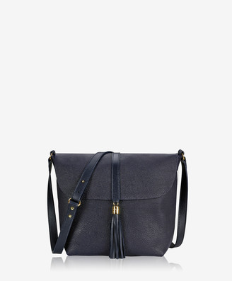 GiGi New York Celeste Crossbody, Midnight Blue French Goatskin