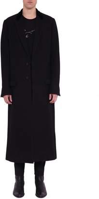 Haider Ackermann Brigidi Black Wool Coat
