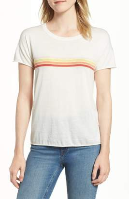 Velvet by Graham & Spencer Stripe Cotton Tee