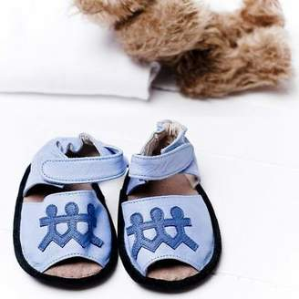 NEW Boys club baby sandals by Cheeky Little Soles