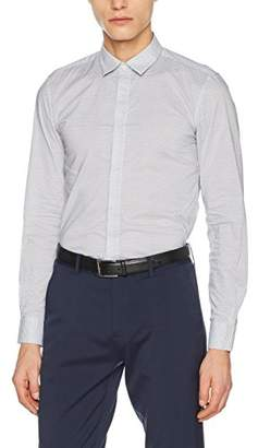 Antony Morato Men''s Camicia Manica Lunga Fantasia Casual Shirt, (Bianco), X-Large