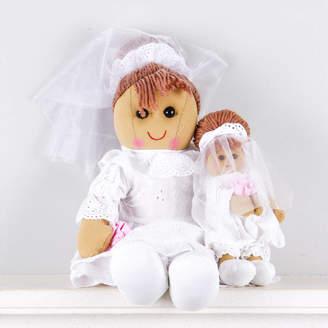 Little Ella James Bride And Bridesmaid Rag Dolls