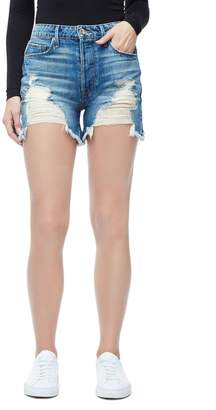 Good American The Bombshell Jean Short - Blue153