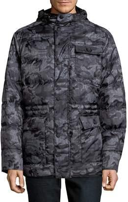 Hawke & Co Men's MMF Polyfill Camo Jacket - Grey Heather, Size xl [x-large]