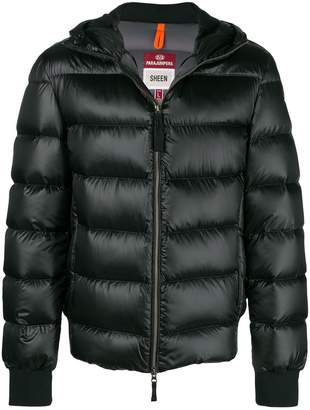 Parajumpers hooded puffed jacket