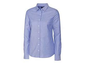 Cutter & Buck Women's Wrinkle Resistant Stretch Long Sleeve Button Down Shirt