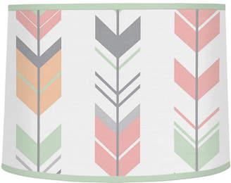 "JoJo Designs Sweet Mod Arrow 10"" Microfiber Drum Lamp Shade"